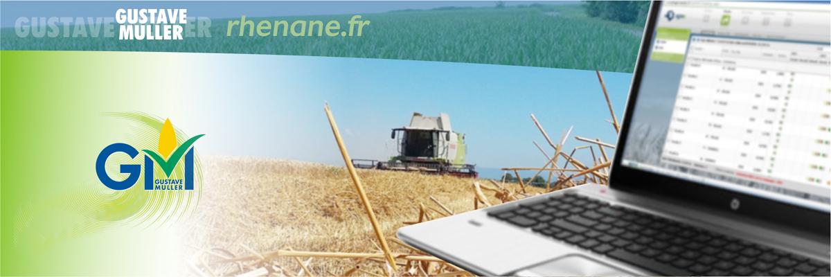 Notre extranet www.rhenane.fr, un maillon essentiel de nos flux d'informations à destination de nos clients agriculteurs