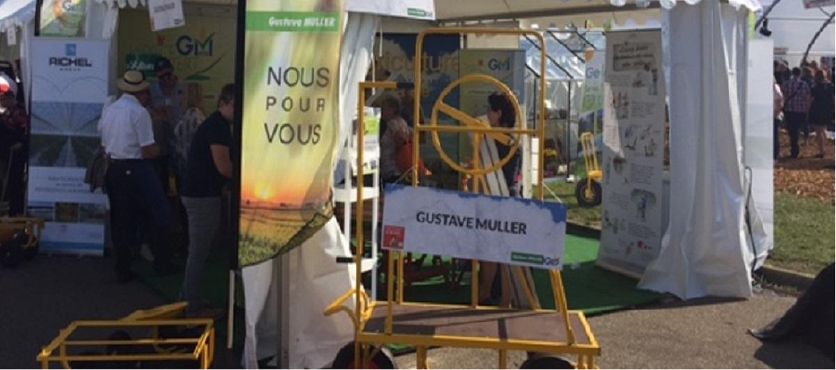 Gustave Muller Espaces Verts présent au salon saveur et soleil d'automne de Sélestat
